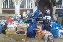 Sbírka od lidí z Liberce zamířila do Bělé.