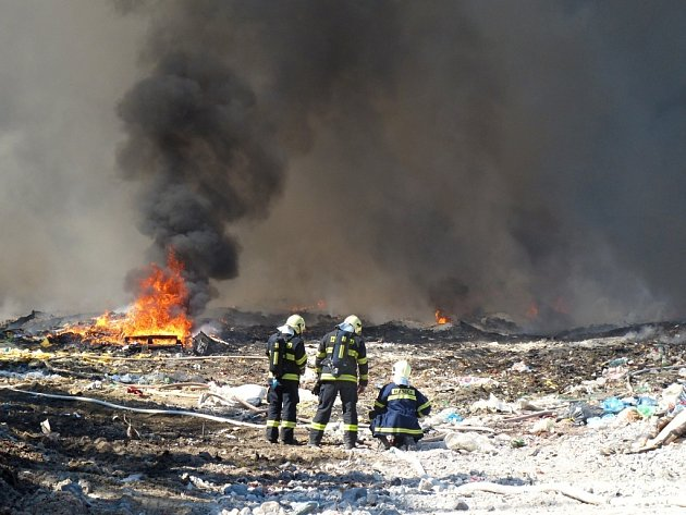 Požár v Druzcově