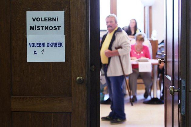 První voliči na Českolipsku.