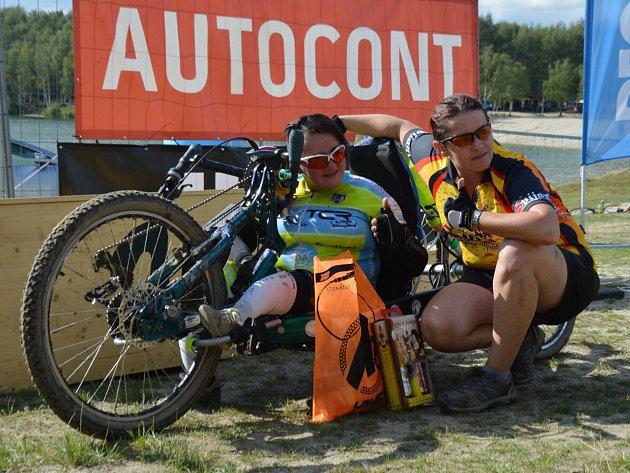 Handicapovaná Petra Hurtová.