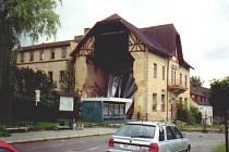Bývalý hotel Perun v Hejnicích.