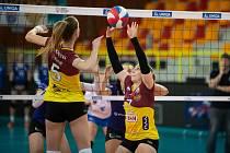 ÚSPĚŠNÝ VSTUP DO PLAY-OFF. Liberec v prvním čtvrtfinále zdolal Přerov 3:0.