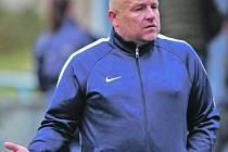 Trenér fotbalistek Slovanu Josef Lexa