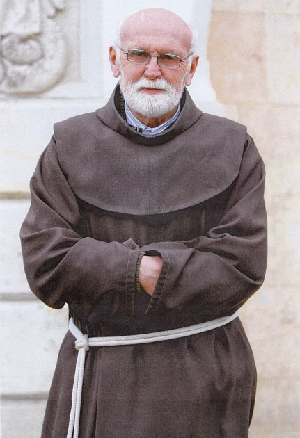 Bratr Antonín Pavel Kejdana, františkánský řeholník.