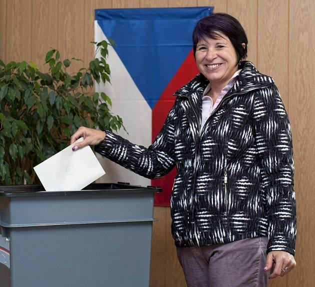 Lidie Vajnerová, jednička na kandidátce SOS a náměstkyně hejtmana.