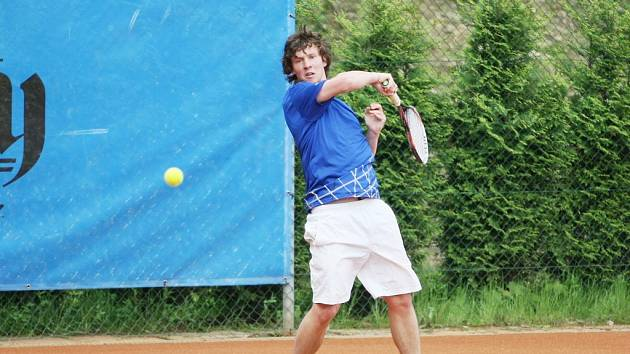 LUBOMÍR MAJŠAJDR. Liberecký tenista se představí na kurtech v kvalifikaci.