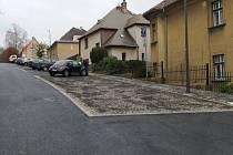 Opravená ulice U Opatrovny v Liberci.