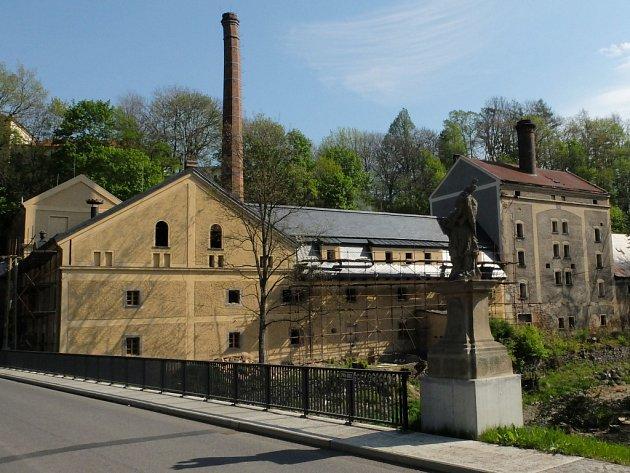 Pivovar ve Frýdlantě.
