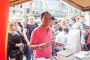 Letní festival cizinců a národnostních menšin proběhl 31. srpna na náměstí Dr. E. Beneše v Liberci. Pro návštěvníky byl připraven bohatý kulturní program i ochutnávky národních pokrmů.