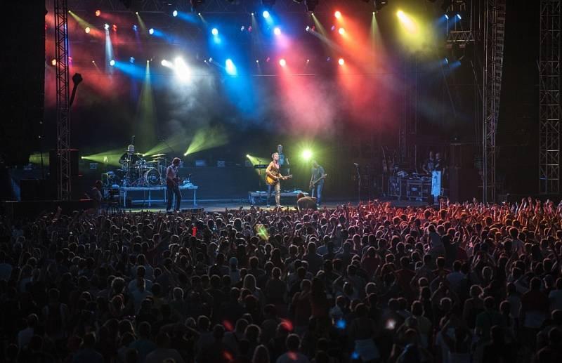 Hudební festival Benátská noc 26. července v Liberci.