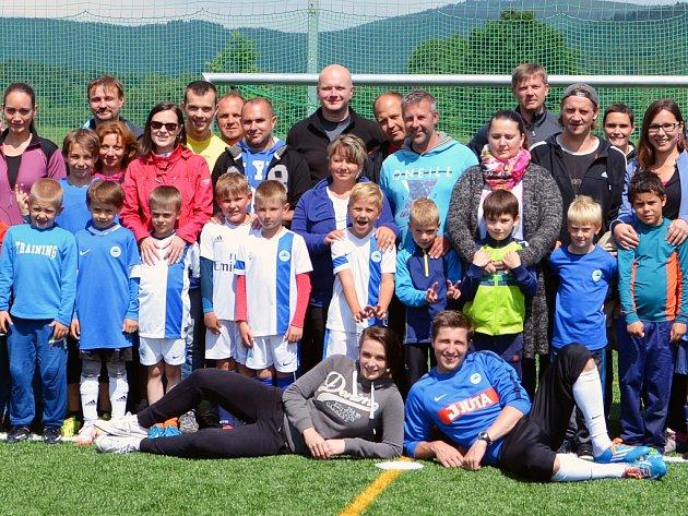 Fotbalové naděje Slovanu U8 hrály na prestižních turnajích.