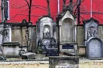 Bývalý hřbitov v Budyšínské ulici.