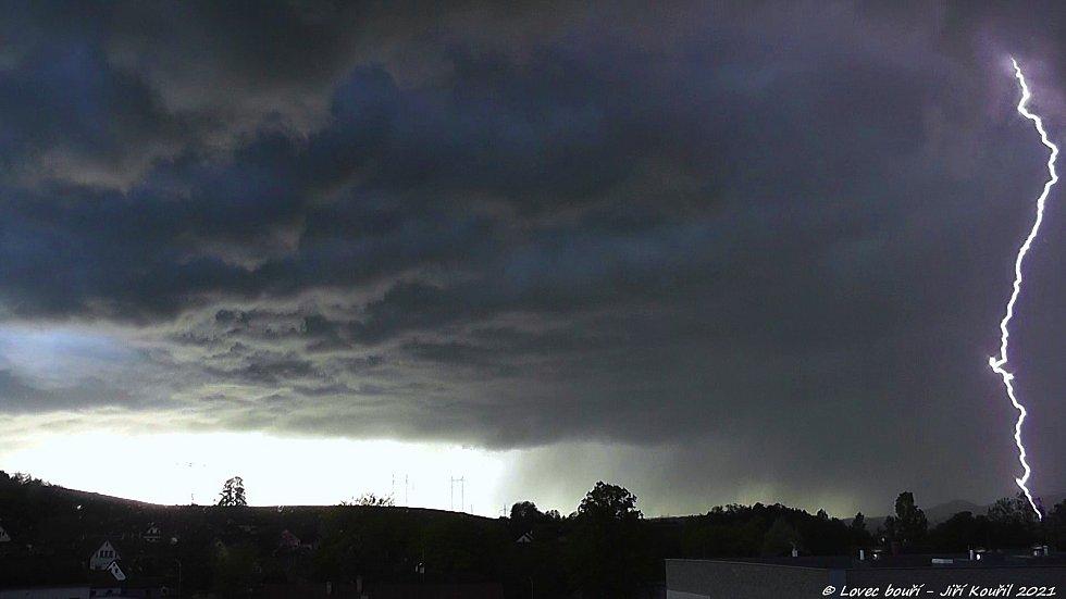 Bouřka 25. 5. 2021