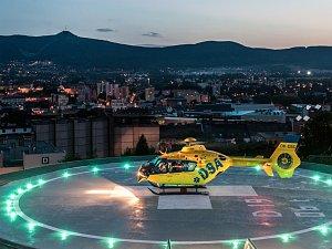 INOVATIVNÍ přístup ocenila porota u heliportu v KNL.
