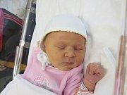 NATÁLIE PAŘÍKOVÁ Narodila se 21. listopadu v liberecké porodnicimamince Katarině Paříkovéz Turnova. Vážila 3,63 kg a měřila 52 cm.