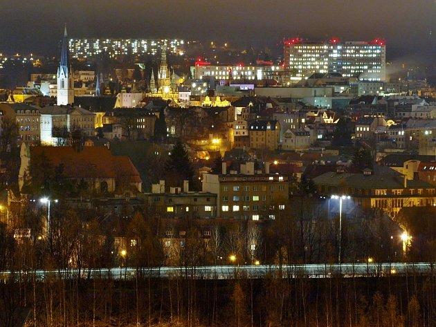 Liberec po setmění.
