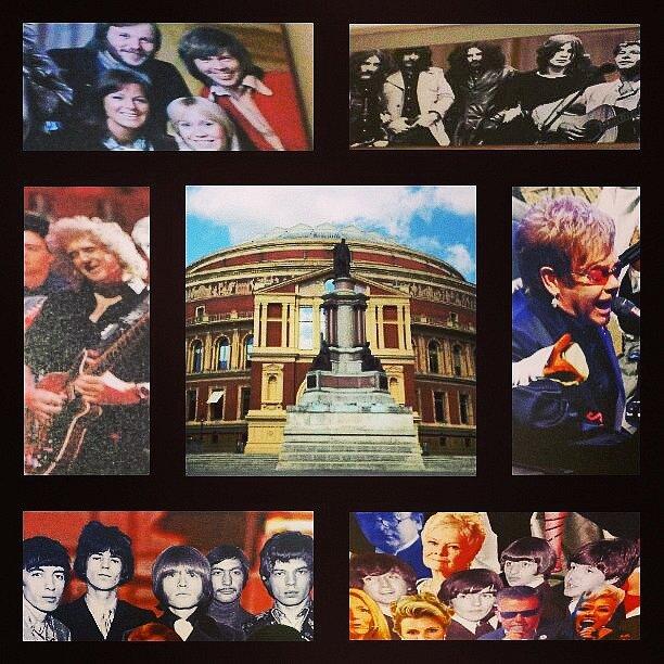 Royall Albert Hall v Londýně.