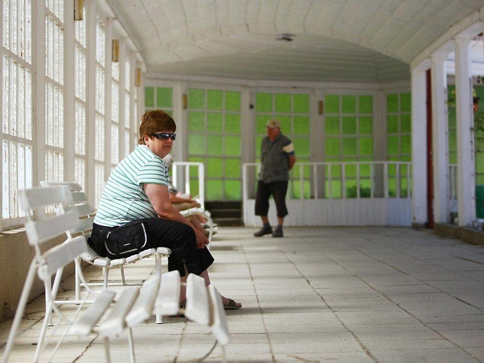 LÁZNĚ LIBVERDA. Návštěvníky se snaží přilákat třeba na novou kolonádu.