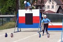 NOVÁ běžecká dráha poslouží hlavně mladým hasičům.