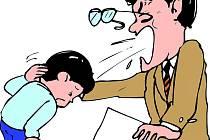 Děti jsou rodiči trestány. Ilustrační snímek.