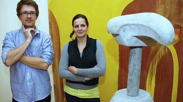 Bild vergrößern VLADIMÍR VÉLA A MICHAELA MAUPICOVÁ vystavují společně v liberecké Galerii U Rytíře. Výstava nese název Podobraz.