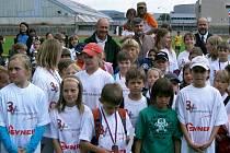 Na Městském stadionu v Liberci se konalo krajské finále pro žáky základních škol v atletickém trojboji