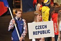 Slavnostní ceremoniál ukončil Evropskou zimní olympiádu mládeže, z níž si česká výprava odnáší dvě zlaté. Na nejvyšším stupni stanuly dvě z tváří olympiády – krasobruslař Petr Coufal (na snímku) a alpská lyžařka a snowboardistka Ester Ledecká.