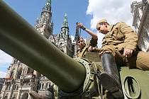 Vloni při výročí okupace vojsky Varšavské smlouvy přijely na liberecké náměstí znovu tanky