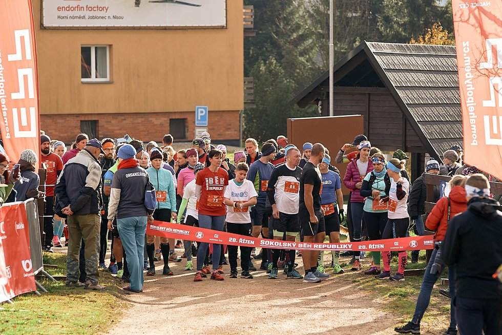 Běh republiky v Bedřichově.