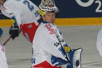 NÁVRATY. Po zranění se liberecký brankář Milan Hnilička vrátil do hokejové  extraligy i do národního týmu.