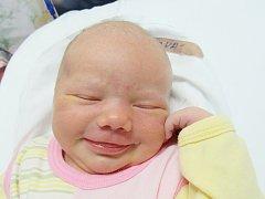 NIKOL KUBICOVÁ Narodila se 17. července v liberecké porodnici mamince Janě Kubicové z Hrádku nad Nisou. Vážila 3,62 kg a měřila 49 cm.
