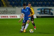 Zápas 4. kola českého fotbalového poháru - MOL Cupu mezi týmy FC Slovan Liberec a MFK Karviná se odehrál 1. listopadu na stadionu U Nisy v Liberci.