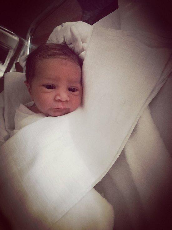 Michal Pavlišta. Narodil se 18. ledna mamince Romaně Sitové. Vážil 3,180 kg a měřil 50 cm.