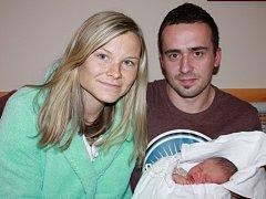 Mamince Zuzaně Šimůnkové z Hrádku nad Nisou se dne 16. prosince v liberecké porodnici narodil syn Tadeáš. Měřil 50 cm a vážil 3,34 kg.