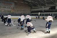 Hokejisté Liberce trénovali na ledě