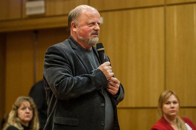 Jan Mečíř, starosta obce Stružnice.