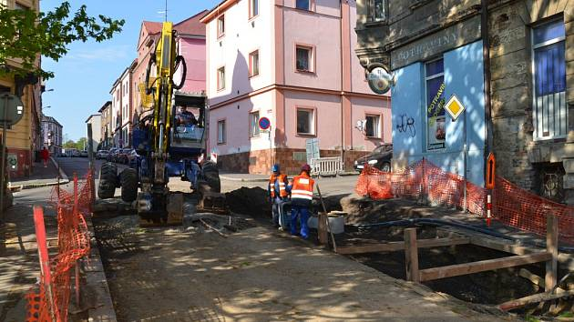 Investiční akce SVS, a. s. v Libereckém kraji.