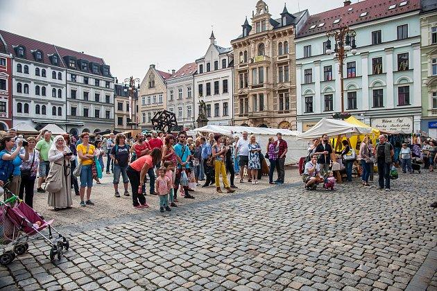 Liberecké náměstí. Ilustrační fotografie.