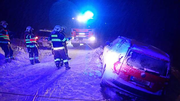 Dopravní kolize v Libereckém kraji.