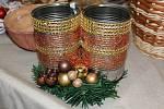 Vánoční trhy výrobků chráněných dílen.