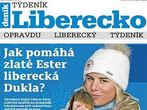 První vydání nového Týdeníku Liberecko.