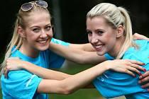 MISSKY Liberce se včera vydaly na trénink s profesionálními sportovci.