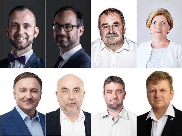 Liberecký kraj má osm poslanců.