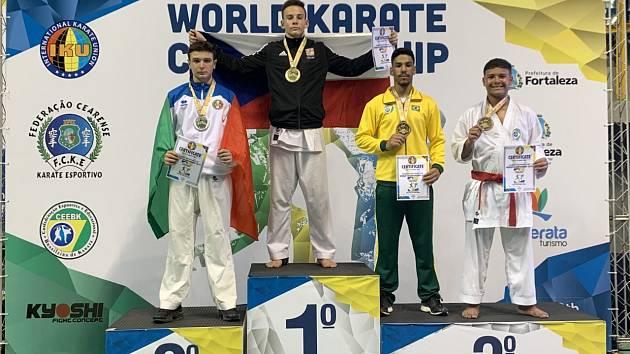 Juniorským mistrem světa se stal Lukáš Cyprián z Gryfu.