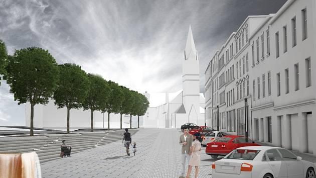 Sokolovské náměstí a sousedící okolí kostela svatého Antonína dostanou novou podobu.