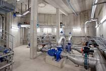 Úpravna vody v Bílém Potoce na Frýdlantsku po rekonstrukci za více jak 200 milionů korun.