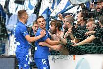 FC Slovan Liberec - FK Jablonec 2:2.
