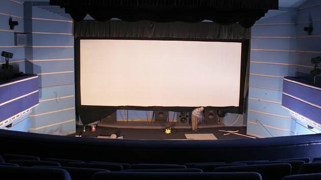 Kino ve Frýdlantě. DIGITALIZACI má kino za sebou, teď čeká na diváky.Foto: