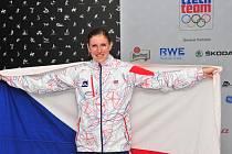 Zuzana Hejnová po úspěšném běhu v Londýně.