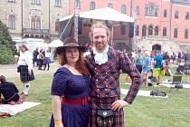 Jubilejní 20. ročník Skotských her na Sychrově.